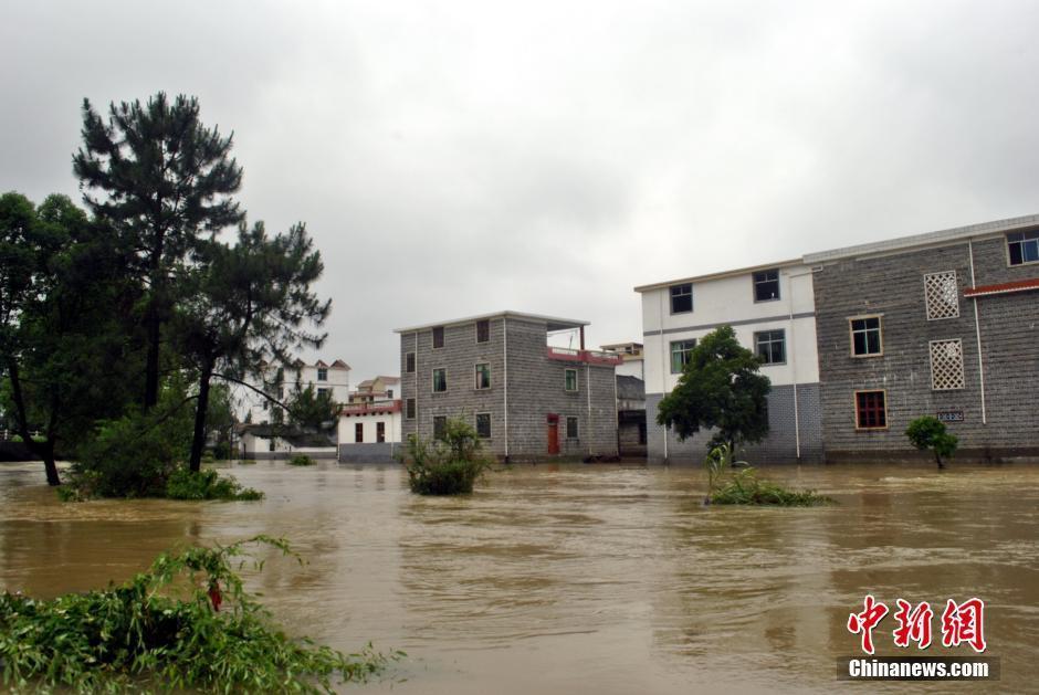 南方多地遭暴雨襲擊洪澇嚴重 高清組圖