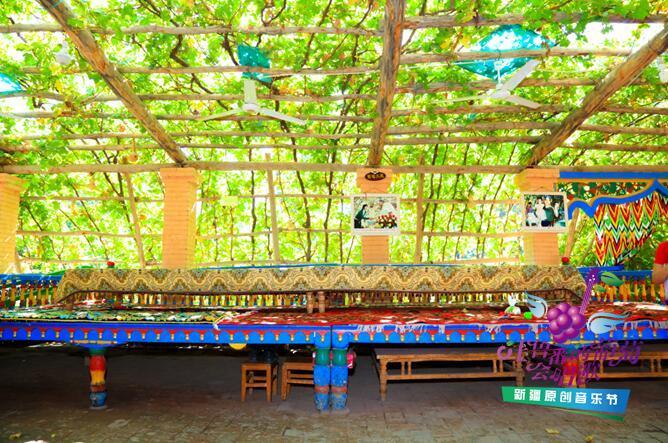 """吐鲁番葡萄沟的资料_吐鲁番的葡萄会唱歌 葡萄沟里的""""五星""""民宿人家(组图 ..."""