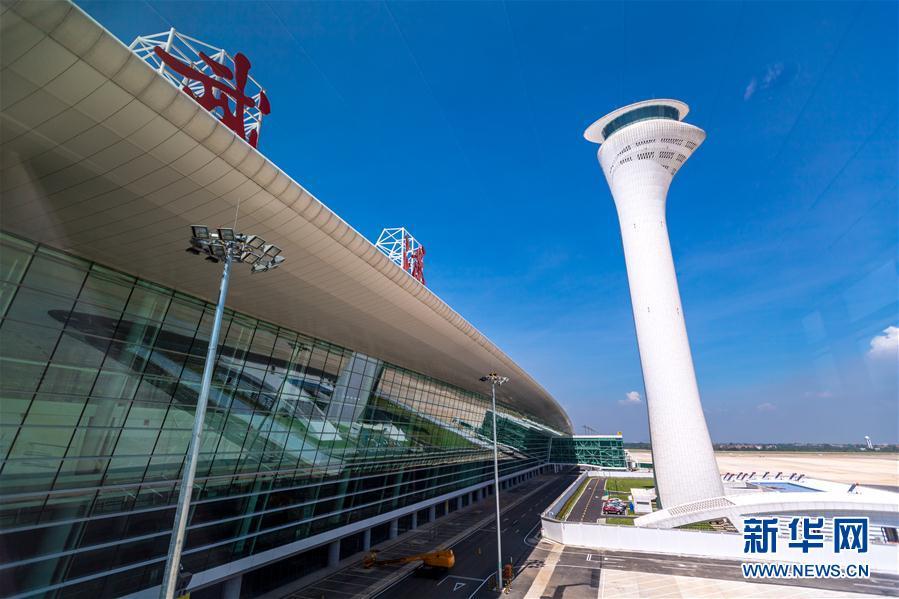 (圖文互動)(1)武漢天河機場T3航站樓8月31日啟用