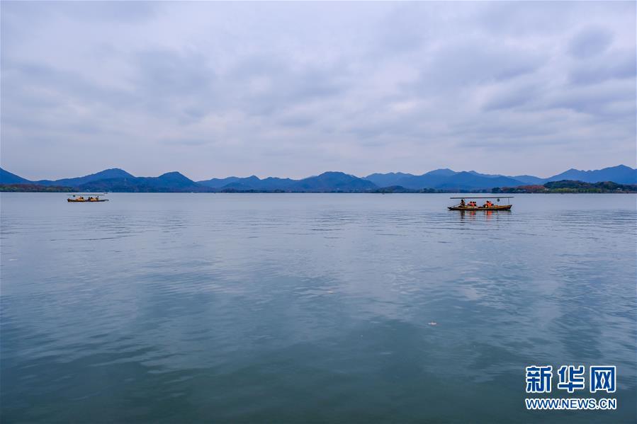 """(美麗中國)(1)冬日西湖呈現""""多彩畫卷"""""""