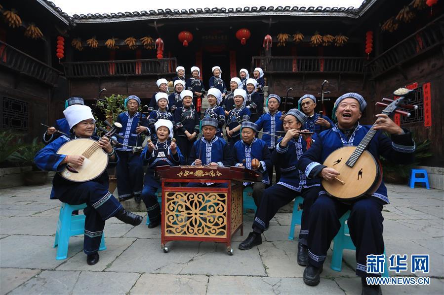 #(社會)(1)貴州惠水:傳統民歌引客來
