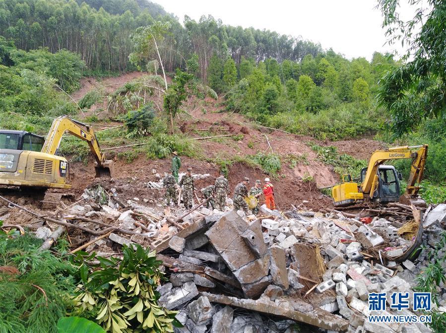#(環境)(1)強降雨造成廣西9萬多人受災