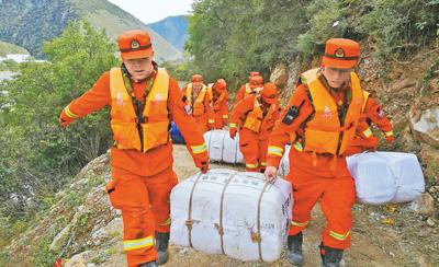 《加拿大时时彩走势图》川藏交界处救灾有序开展 群众安全撤离