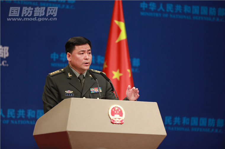 国防部就中国国际军事合作工作等答问