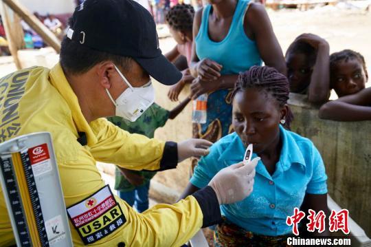 中国民间公益社团组织抵达莫桑比克开展救援