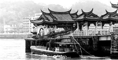 被货船碰撞潮州广济古桥受损 后续调查正展开