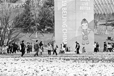 """北京世园会园区进行全负荷压力测试 6万人入园"""""""