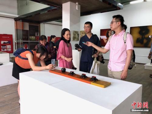 福州海峡创意产业园:台青来创业 网红店集聚(组图)