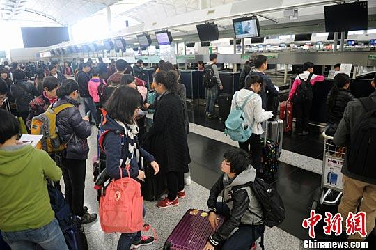 香港激进分子计划在机场集会 机管局作特别安排(图)