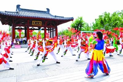 [相约2019北京世园会]陕西日:绿色丝路筑美丽三秦(图)