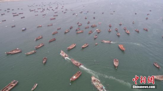 中国黄渤海休渔期结束
