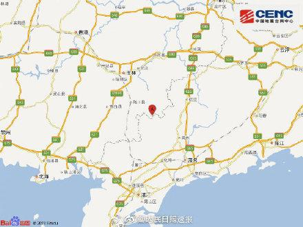 专家析广西玉林5.2级地震:再发生强震可能性不大(图)