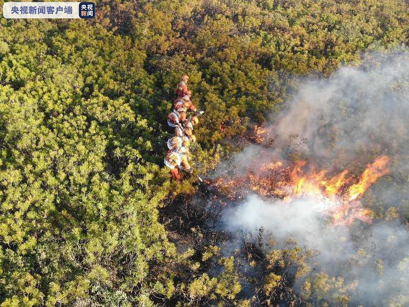 四川凉山木里森林火灾南线西线火场已基本得到控制 4700多人参与